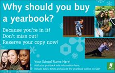 middle school yearbook ad ideas for parents | Example of HJ Custom Poster