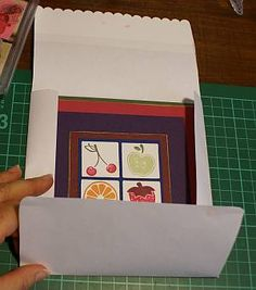 How to make envelopes for handmade cards