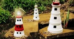 Clay Pot Lighthouse Directions A Super Easy DIY