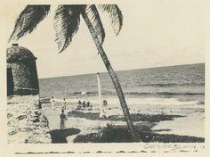 Playa de la tenaza, foto de antaño