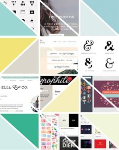 Best Websites for Creatives // Including: social media, typography, design, and photography.