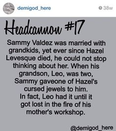 Credit to @demigod_here on Instagram<-----it's great grandson!!!!