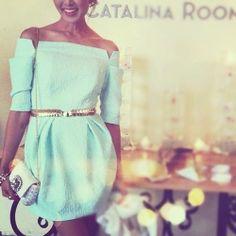 summer dress, love the colour