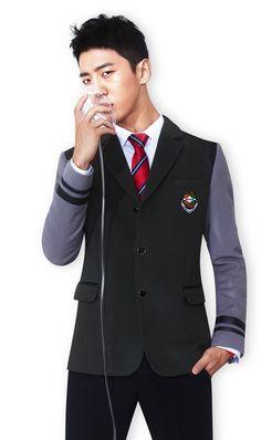 #Yongguk Those school feels ;)