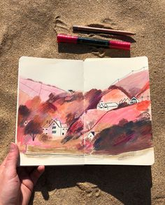 About — Emma Carlisle Watercolor Sketchbook, Artist Sketchbook, Sketchbook Pages, Logos Retro, Sketchbook Inspiration, Pencil Illustration, Art Inspo, Art Reference, Book Art