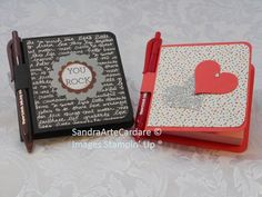 Post It Note Pad Gift Ideas using Stampin' Up products