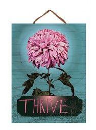 Thrive Bloom Art Panel Print
