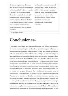 El sistema hegeliano se divide en  Las bases del conocimiento moral  tres partes: la lógica, la filosofía de la son concep...