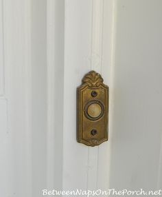 How to install or replace an old doorbell for the upcoming holidays with Between Naps on the Porch
