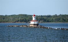 Indian Head Light, Northumberland Strait, Prince Edward Island