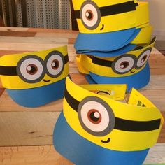 Diy And Crafts, Crafts For Kids, Arts And Crafts, Paper Crafts, Craft Activities, Preschool Crafts, Paper Balls, Hat Day, Minion Birthday
