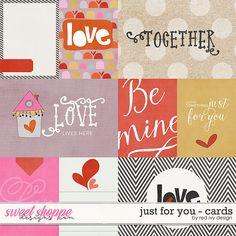Just For You - Cards by Red Ivy Design