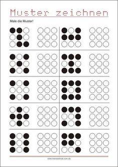 Vorschule Kindergartens Deutsch – Rebel Without Applause Preschool Writing, Preschool Education, Preschool Learning Activities, Kindergarten Math, Math Math, Coding For Kids, Math For Kids, Visual Perceptual Activities, Kids Math Worksheets