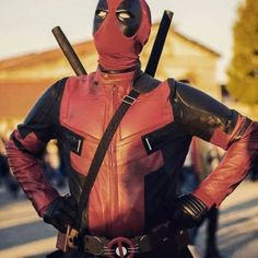 Deadpool Motorcycle Suit ////////////////// gadgets, cosplay, gaming, Nintendo, comics, deadpool, awesome stuff
