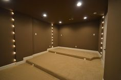 Lighted Theater Room