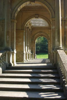 The Palladian Bridge, Prior Park, Bath , England
