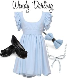 """Wendy Darling"" by adisneygirl ❤ liked on Polyvore"