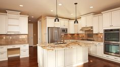 Gorgeous kitchen in the 2012 St Jude Dream Home. Built by Fischer & Frichtel Homes in St. Louis, MO