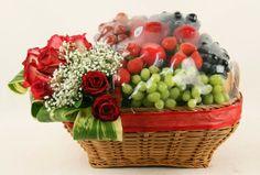 Rangkaian Parcel Bunga dan Buah Hari Raya Idul Fitri | Toko Bunga by Florist Jakarta
