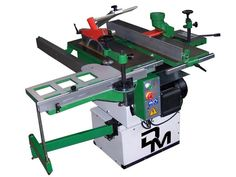 woodworking machine 5 operation with Jointer/planer 260 mm wide, Circular saw Ø 250 mm, cast iron tables overturnable, motor single phase 2 hp Sierra Circular, Circular Saw, Combination Woodworking Machine, Mortising Machine, Sliding Table Saw, Cast Iron, It Cast, Iron Table, Woodworking Machinery