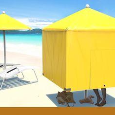 Diverse Sunshade | The Diverse Sunshade is a multifunctional shade for the beach, summertime or any day with an abundance of sun | Design team: Haimo Bao, Weihua Zhang, Jiwei Huang, Rui Zhang, Kun Xu, Song Qiao, Yong Jiang, Xirui Hou, Jiaxuan Ma, Jiacheng Bao and Ying Wang of School of Design, Dalian Nationalities University | IDEA 2013 Bronze