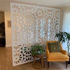 Decorative Room Dividers, Hanging Room Dividers, Decorative Wall Panels, Wall Dividers, Room Divider Walls, Room Divider Headboard, Space Dividers, Bookshelf Room Divider, Diy Room Divider
