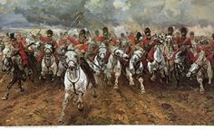 Depiction of the Charge of the Light Brigade, one of history's most famous…