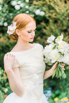 La novia de la flor | Kelsey Genna | Kate Grewal Fotografía | Blog Reflexiones nupcial de la boda 12