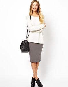 ASOS Pencil Skirt In Jersey