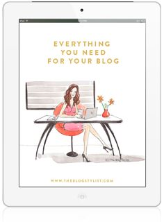 Everything you need to know for your blog
