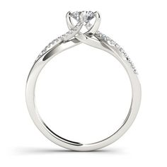 De Couer 10k White Gold 1/2ct TDW Diamond Engagement Ring (H-I, I2) | Overstock.com Shopping - Top Rated De Couer Engagement Rings