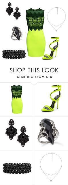 """Untitled #430"" by justbrandy79 on Polyvore featuring Pilot, Giuseppe Zanotti, Tasha, Bling Jewelry and Folli Follie"