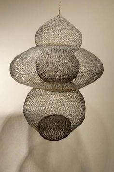 Ruth Asawa  -  crocheted wire sculpture