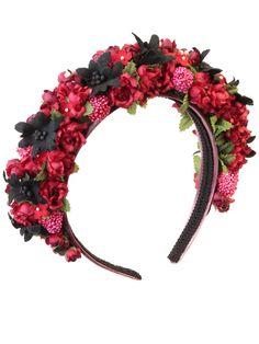 Blumenhaarreifen in Rot Modell Wildberries von LIMBERRY