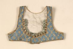 Egypt. Girl's vest made of silk.