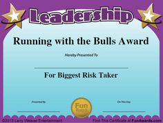 Funny Awards for Employees                                                                                                                                                     More
