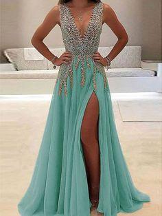 Prom Dresses Long Pink, V Neck Prom Dresses, Sexy Dresses, Evening Dresses, Summer Dresses, Dress Prom, Fashion Dresses, Backless Dresses, Sheath Dresses