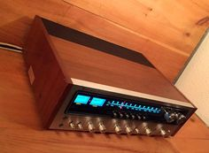 SALE  Rare Like New Large Stereo Receiver Am / by AntiqueApartment