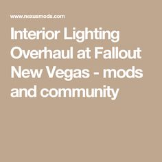 148 Best My Recommended Fallout: New Vegas Mods  images in