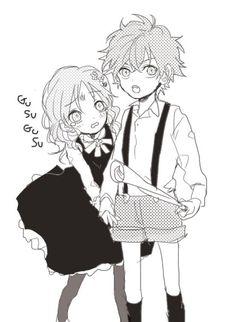 diabolik lovers   love   manga   sakamaki ayato   very cute