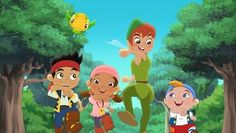 Jake and the Neverland Pirates:The Return of Peter Pan. Really want to see this!