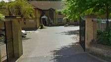 Care home resident found on fire dies