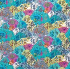 Textile Tuesday: Aravali by Osborne & Little | The English Room