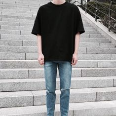 Korean Fashion Men, Asian Fashion, Boy Fashion, Mens Fashion, Fashion Outfits, Latex Fashion, Fashion Killa, Daily Fashion, Casual Outfits