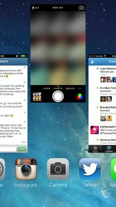 iOS 7 protip: When an app keeps crashing, force quit it by double-tapping the home button and swiping the app window up.