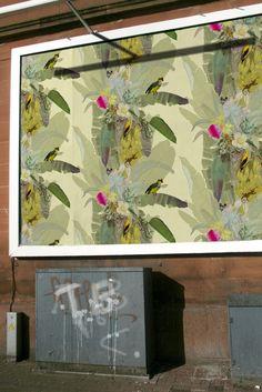 Timorous Beasties Wallcoverings - Merian Palm