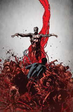 SHADOWMAN #16 Written by PETER MILLIGAN Art & Cover by ROBERTO DE LA TORRE Variant Cover by RUSSELL DAUTERMAN  A great and terrible loa of the Vodun pantheon is at large in the world of men…and its name is SHADOWMAN!