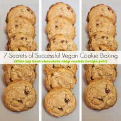 Vegan chocolate chip cookies--do half coconut oil and half EB, and follow all the directions! <3