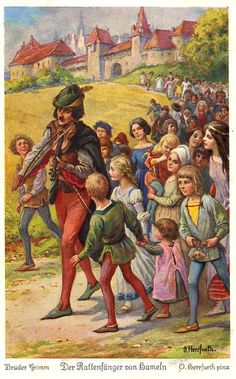 Pied Piper of Hamlin (Brothers Grimm)
