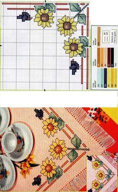 Autunno Kit Tappeti Kit a Punto Croce per Decorazione della Sala da Pranzo Domestica
